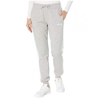 adidas 3 stripe fleece jogger pants