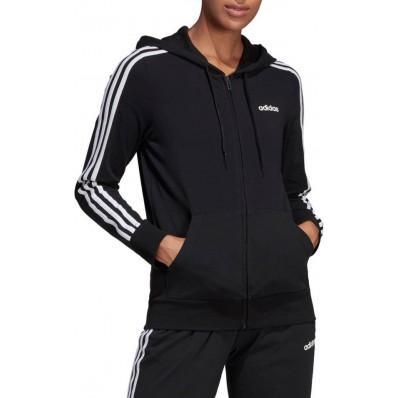 adidas 3 stripe hoodie womens