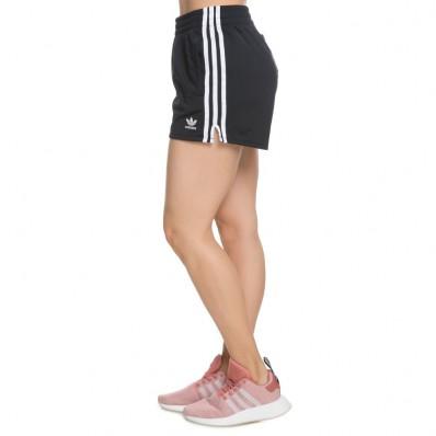 adidas 3 stripes shorts womens