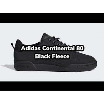 adidas continental 80 fleece