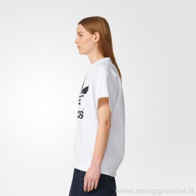 adidas donna abbigliamento bianco