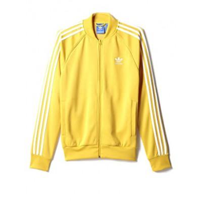 adidas felpa gialla