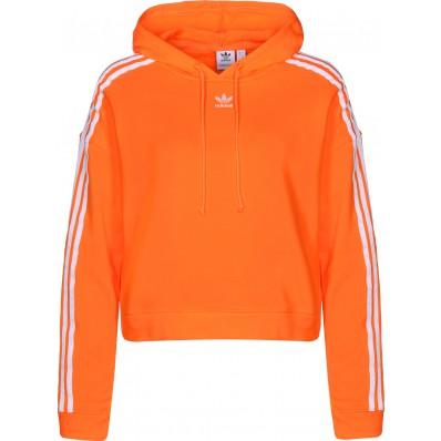 adidas felpa uomo con cappuccio arancione