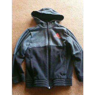 adidas hoodie age 7
