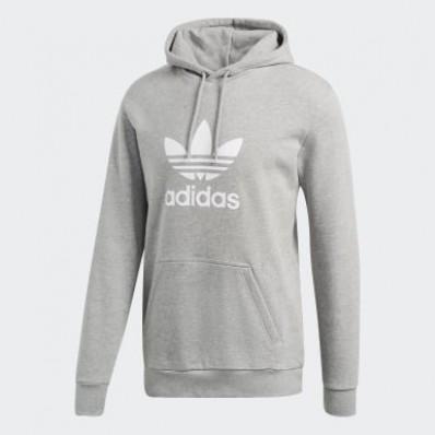 adidas hoodie grey mens