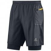 2 in 1 adidas shorts