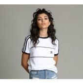 adidas t shirt bianca donna