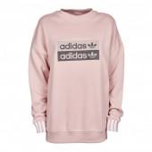 felpa adidas donna rosa con cappuccio