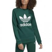 felpa adidas donna verde con cappuccio